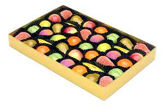 Shepcote Marzipan Fruits 454g Gold Tray 39pc