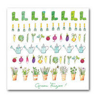 Sophie Allport Greeting Card - Green Fingers!