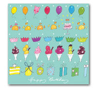 Sophie Allport Greeting Card - Happy Birthday