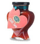 Tracklements Chilli Jam Heart Shaped Jar 350g