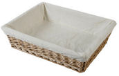 Luxury Wicker Tray Medium
