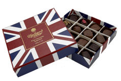 Charbonnel Walker Fine Chocolate Slection Union Jack Box 200G