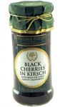 Village Green Black Cherries in Kirsch 340g