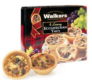 Walkers Ecclefechan Tarts 180g 4pc