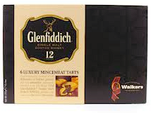 Walkers Glenfiddich Mince Tarts 6 Pc