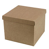 Textured Cardboard Presentation Box