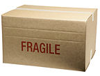 Economy Medium Cardboard Box (Transit Sleeve)