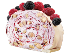Quaranta Soft Roll Raspberry Nougat 150g
