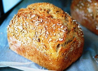 Tortoise Bakery Wholemeal Tin Loaf; great with our Cheeses