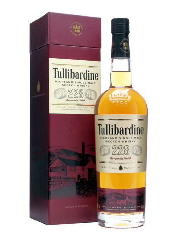 Tullibardine 228 Burgundy Finish 70cl 43%