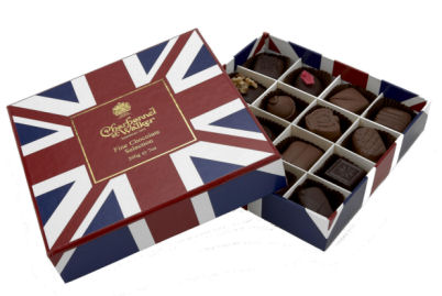 Charbonnel Walker Fine Chocolate Slection Union Jack Box 200G (image 1)