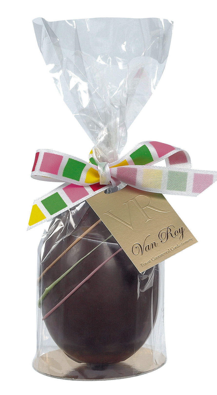 Van Roy Dark Chocolate Easter Egg 125G (image 1)