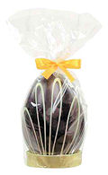 Van Roy Bitter Chocolate Easter Egg In Leaves Design 160g