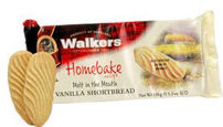 Walkers Vanilla Shortbread 150g Cello Pack