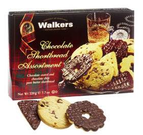 Walkers Chocolate Shortbread 220g Box (image 1)