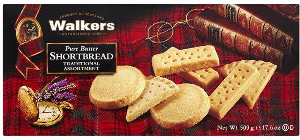 Walkers Traditional Shortbread Assortment 500g