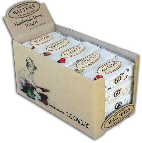Walters Nougat 55g Bars 20 Bar Box