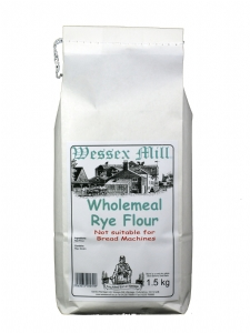 Wessex Mill Wholemeal Rye Flour 1.5kg (image 1)