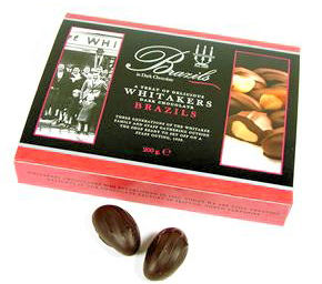 Whittakers Brazil Nuts in Dark Chocolate 200G (image 1)