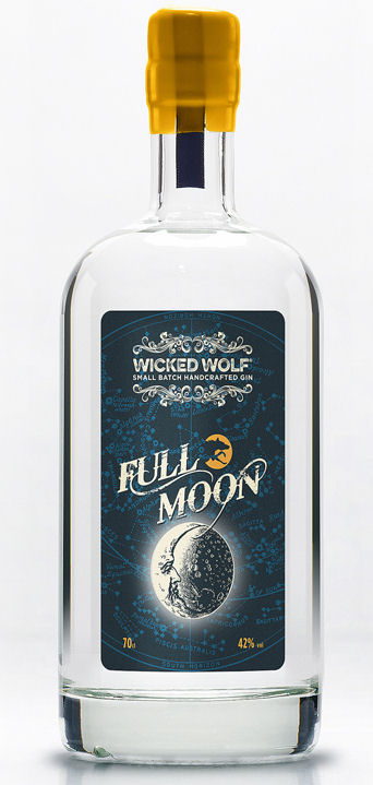 Wicked Wolf Full Moon Gin 70%