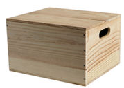 Small Wooden Hamper Box